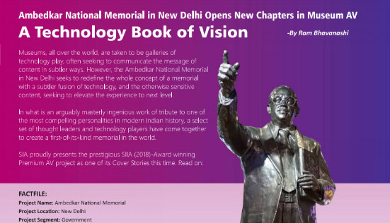 Dr B R  Ambedkar National Memorial, Delhi - Pan Intellecom Ltd